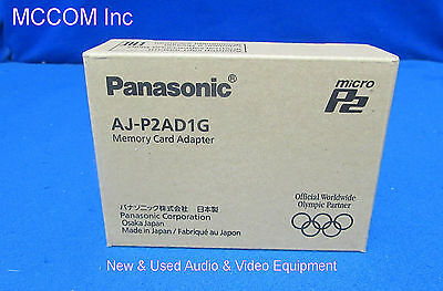 Panasonic AJ-P2AD1G MicroP2 Memory Card Adapter New