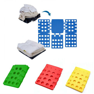Magic Adjustable Clothes and Shirts Folder Board Color in Random