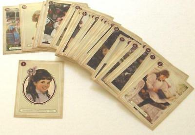 Retired American Girl Samantha Trading Cards! Complete 60 Card Set~Match 5 Books