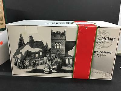 Dept 56 Dickens Spirit of Giving Start A Tradition Set of 13 #58322