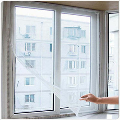 Insect Fly Bug Mosquito Door Window Net Netting Mesh Screen Sticky Tape