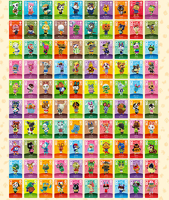 Animal Crossing Amiibo Series 2 Cards # 101-200 - Pick From The List - Free Post