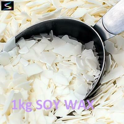 1kg Soy Wax For Clamshells, Tarts, Melts & Votives Candle Making Supplies