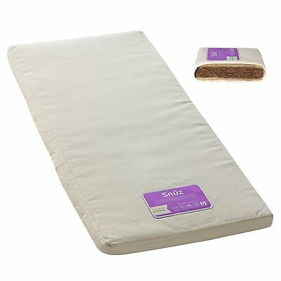 The Little Green Sheep Natural Mattress For Baby Nursery Sleeping Snuzpod Crib