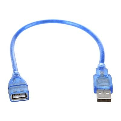 Short USB 2.0 A Female to Male Extension Cable C5Q5