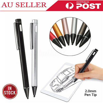 AU Universal 2.0mm Active Stylus Capacitive Touch Screen Pen for iPad 2 iPhone