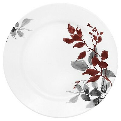 "Corelle Boutique Kyoto Leaves Round 8.5"" Lunch Plate (Set of 12)"