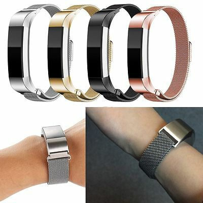 Replacement Metal Steel Band Watch Wrist Bands Strap Bracelet for Fitbit Alta AU