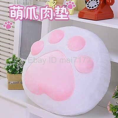 Game Neko Atsume Cat Catlike Cute Cat Paw Cushion Hold Pillow Plush Doll Toy New