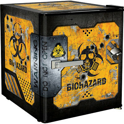 Brand New Schmick Mini Bar Fridge - Toxic Waste - 46 Litres - Quiet - Awesome!