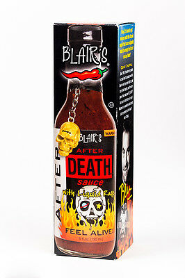 Blair's AFTER DEATH SAUCE (with Liquid Fire)!    Blairs Chilli Chili Hot Sauce.