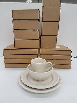 Longaberger American Home Pottery Complete Full Dish Set - 16 pieces Made in USA
