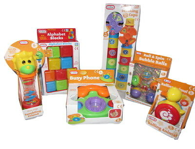 Baby Toys Bundle gift 6 items inc teether Rattle, Phone,Tumbling Friend & more