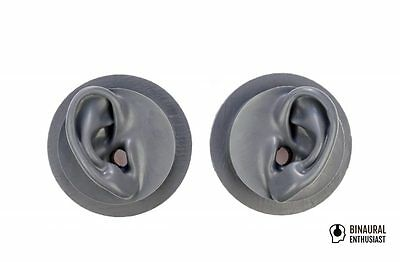 Silicone ears / Artificial Ears / Acupuncture / Binaural recording