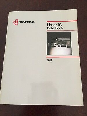 Samsung Linear Ic Data Book Rare Vintage