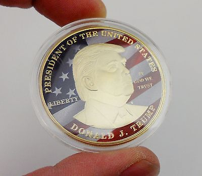 Make America Great Again President Of The United States Donald J. Trump Coin-269