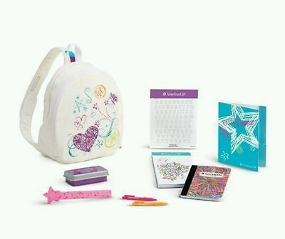 American Girl DOODLE BACKPACK Set pack TRULY ME - New in Box!