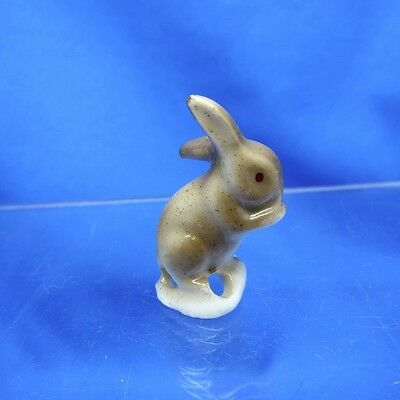 Antique Half Doll Collection Little Brown Bunny Rabbit Pin Cushion