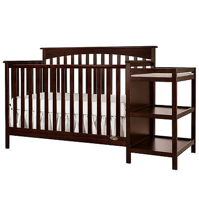 Dream On Chloe 5-in-1 Convertible Crib Conversion Post - Espresso