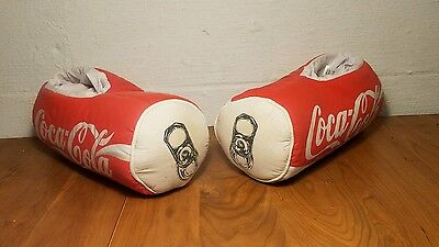 Coca Cola Can Shaped Slippers - Adult Large HOUSE SHOES
