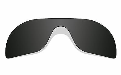 New Black Polarized Replacement Lenses for-Oakley Batwolf Sunglasses
