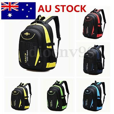 Waterproof Children Kid Backpack Rucksack Boys Girls Pupils Book School Bag