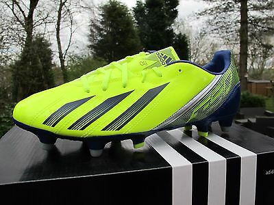 ADIDAS F10 TRX SG FLUO YELLOW Football Boots Mens 6-11 studs soccer FIXED  STUDS 31e3c0c67