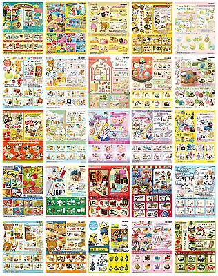 RE-MENT Sailor Moon, Toy Story, Rilakkuma & Other Complete Set - US Seller