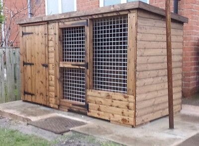 Dog kennel & Run 8ft x 4ft