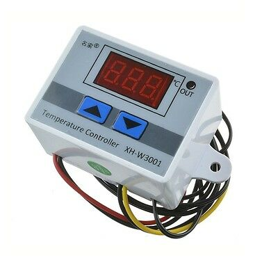 220V Digital LED Temperature Controller 10A Thermostat Control Switch Probe S