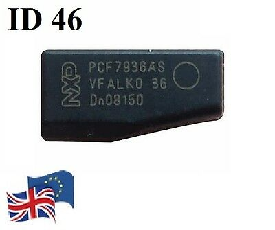 NEW Virgin Transponder ID46 T14 pcf7936 Key Chip Peugeot Citroen Kia Hyunday