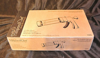 Pampered Chef Cookie Press #1525-Retired-New in Box-NEW LOWER PRICE