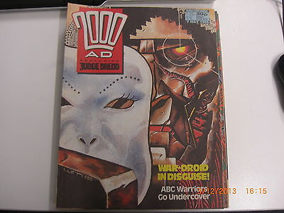 2000ad Prog #573 from 7 May 1988 Judge Dredd                  dinos-old-toy-shop