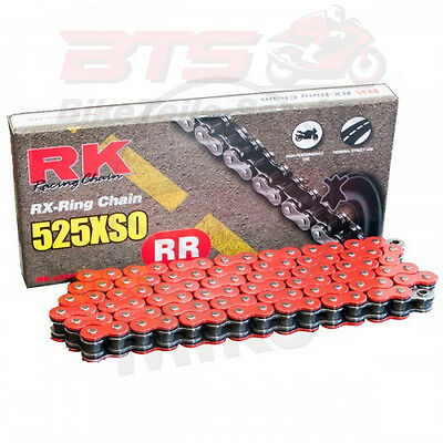 RK X-Ringkette RT525XSO/118 off. m Niet. x-ring chain red 525xso/118 Triumph-Str