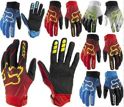 Fox 360 future Full Finger Cycling Gloves Racing MTB Offroad Motocross Dirtbike