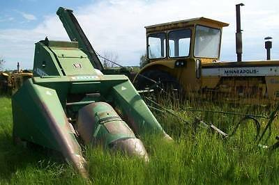 Oliver Model 83 2 Row Corn Picker