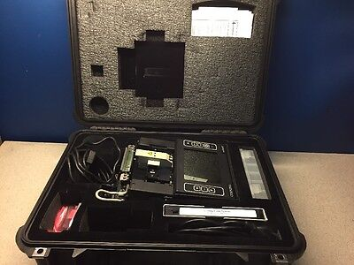 Corning X75-12 Minimass Fusion Splicer with Case Large Screen