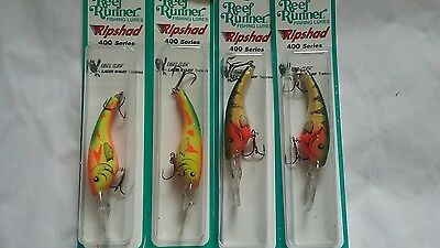 Reef Runner Ripshad 400 Series 1 Plum Shad