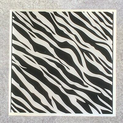 ZEBRA SKIN Design Coaster Ceramic Tile