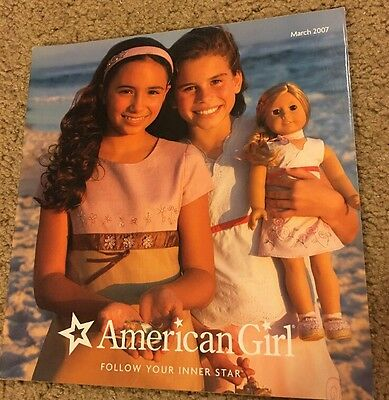 American Girl 2007 Catalog- Introducing Emily! Spring Fun! Great Retired Items!