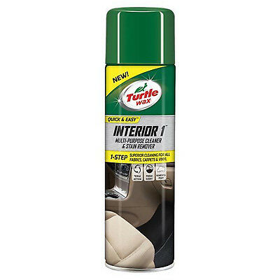 Turtle Wax Interior 1 Carpet and Upholstery Cleaner [FG7629] Dry Foam