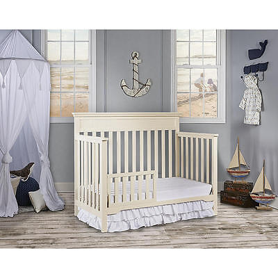 Dream On Me Universal Convertible Crib Toddler Guard Rail  [Crib Not Included]