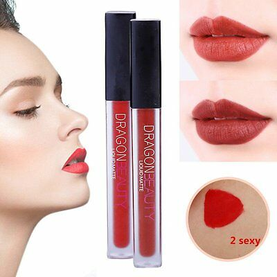 Long Lasting Matte Rossetto Lip Liquid Pencil Lipstick Velvet Lip Gloss Trucco