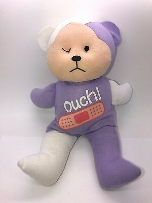 Beanie Kids Cuddly Kids Bear Ck Very Rare Ouch! Sample Unfinished Prototype