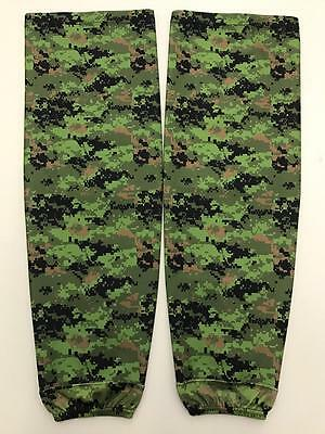 Camo Reebok Team Issued NHL Pro Stock Hockey Player Practice Socks XL Camouflage