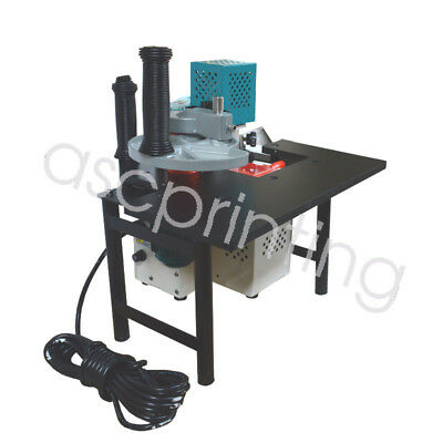 New Woodworking Edge Banding Machine Potable Bander Speed Control Hot-melt