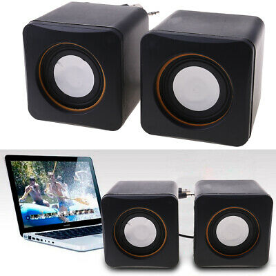 New Portable Mini USB Audio Music Player Speaker For iPhone iPad MP3 Laptop PC