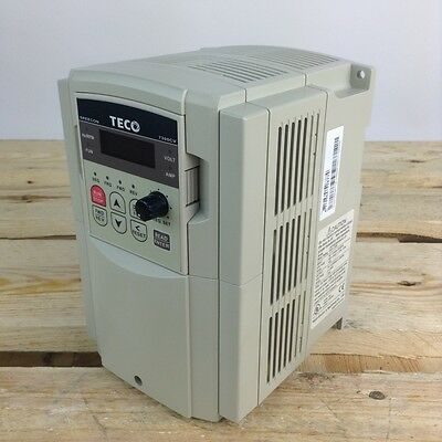 JNTHBCBA0002AC-UF Teco 2HP 1~/3~ 1.5kW Variable Frequency Drive JNTH BCBA 0002 A