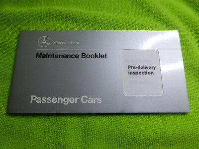 MERCEDES BENZ SERVICE MAINTENANCE BOOK *NEW UNUSED* 10,000 km. INTERVALS.