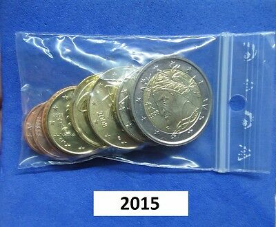 ITALIEN / ITALY - KMS 2015  (1 cent bis 2 Euro)  UNCIRCULATED SET